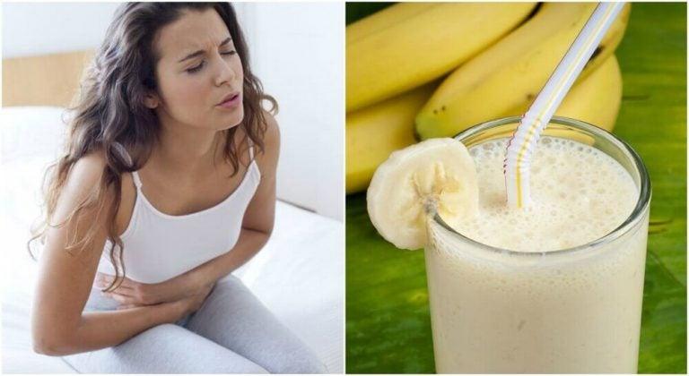 用馬鈴薯和香蕉果昔緩解胃潰瘍