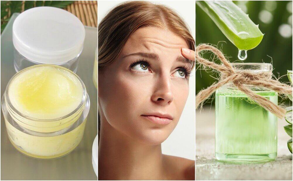 五種淡化額頭皺紋的天然療法
