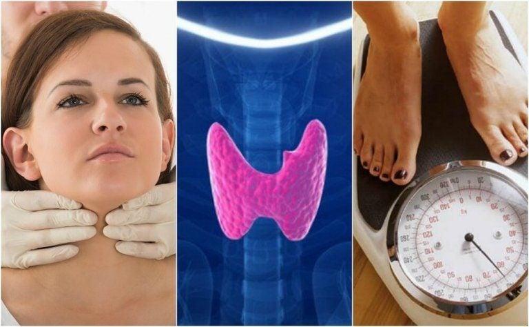 你可能患有甲狀腺機能低下症的10種跡象