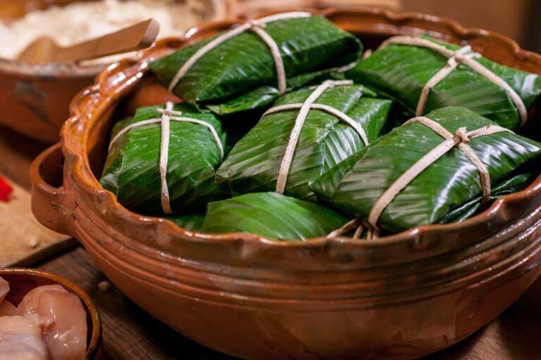 自製塔瑪粽
