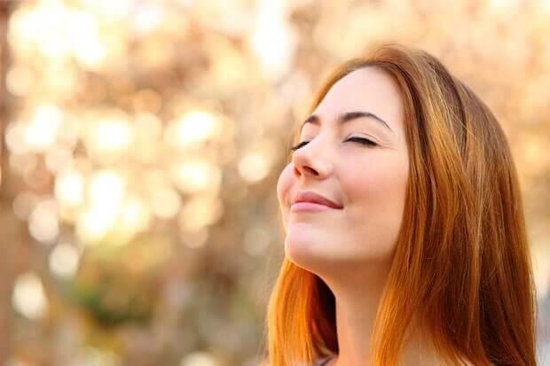 幸福的女人