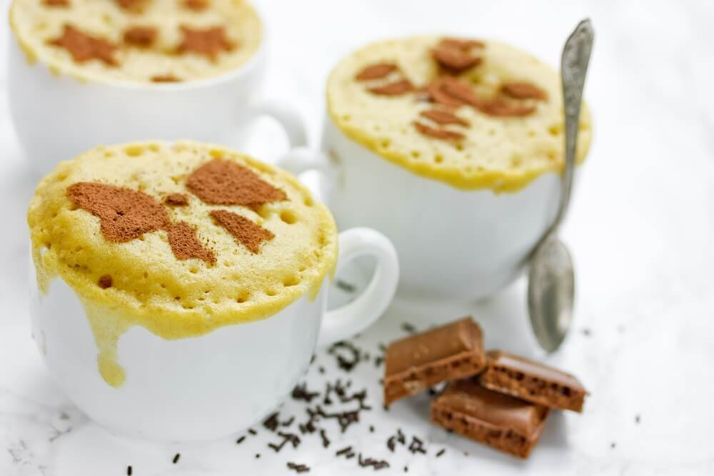 微波蛋糕:快速又簡單的甜點