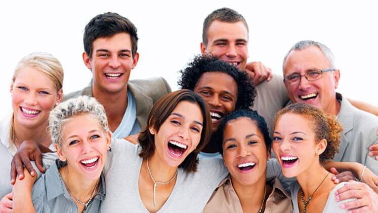 快樂的一群人
