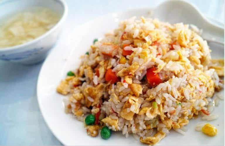 美味的華人米飯食譜