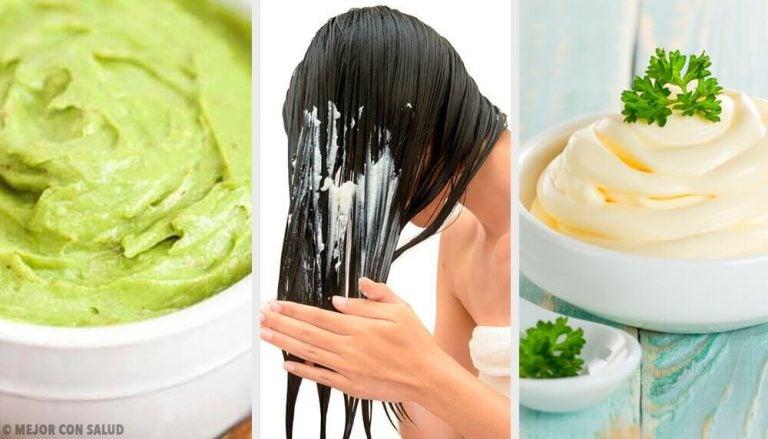 五種讓頭髮柔順有光澤的髮膜