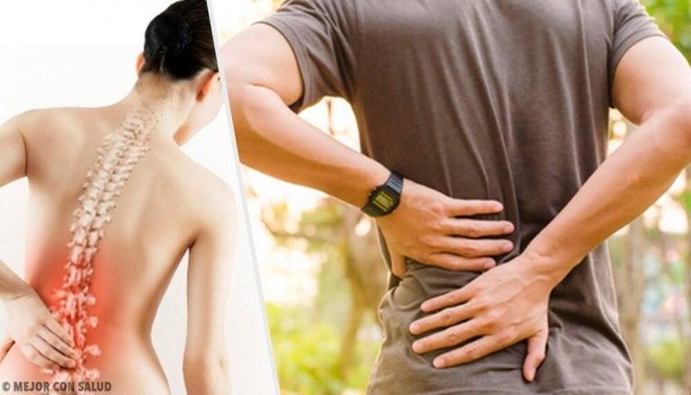 6種導致背痛的健康問題