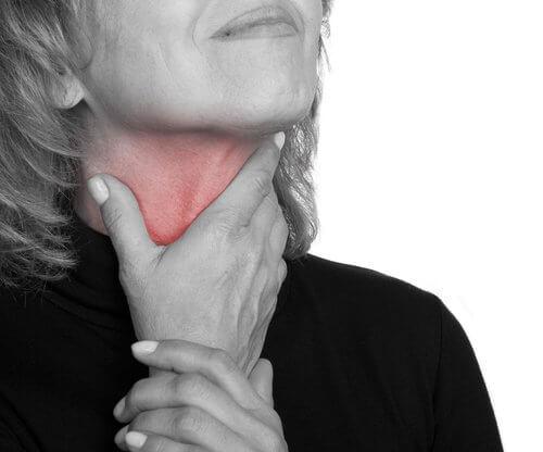 長期喉嚨痛