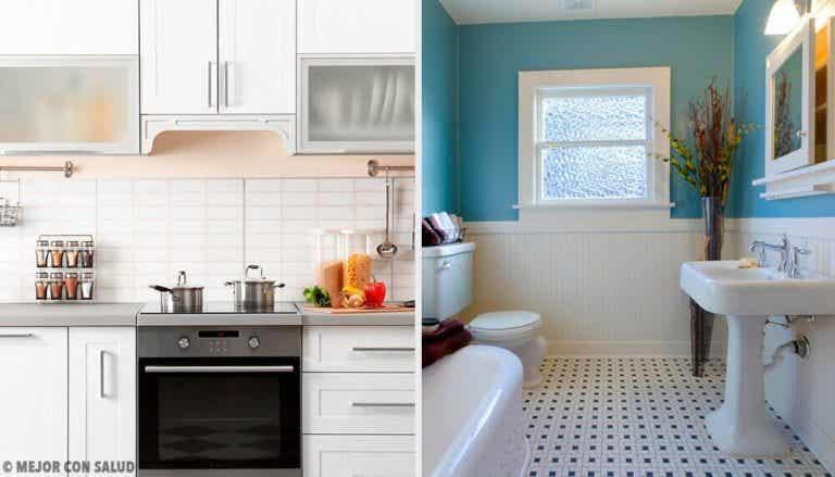 讓廚房和浴室無異味的簡單技巧