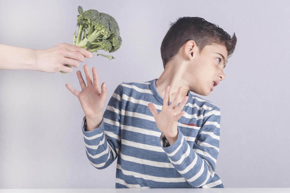 不吃青花菜