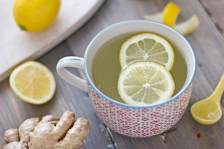 檸檬薑茶1
