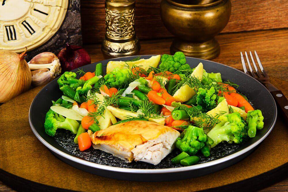 兩種搭配清蒸蔬菜的方法