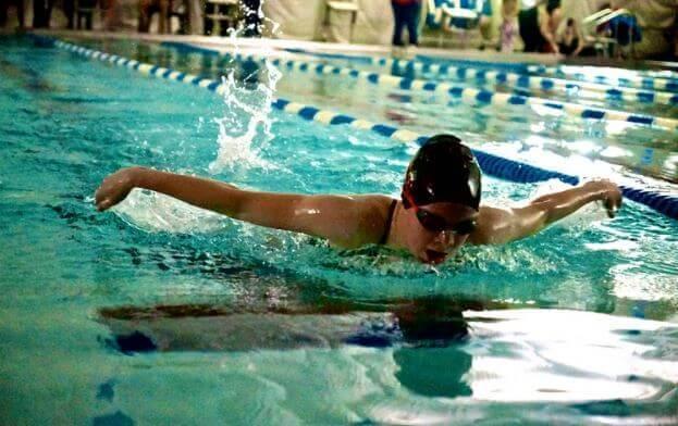游泳:全身性的健身