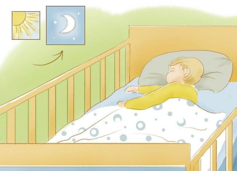 教導孩子睡一整夜