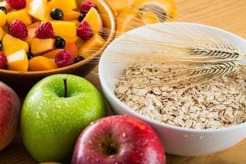 協助減重的富含纖維質食物