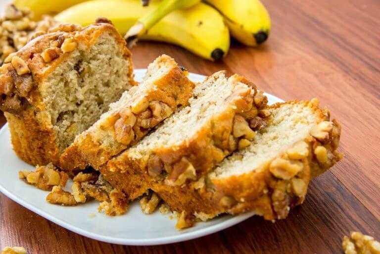 香蕉胡桃蛋糕