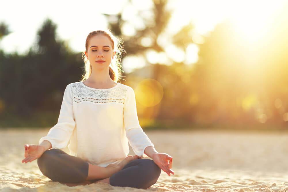 冥想和尋求平靜
