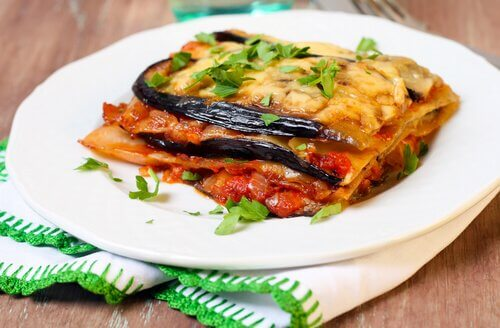 蔬菜千層麵