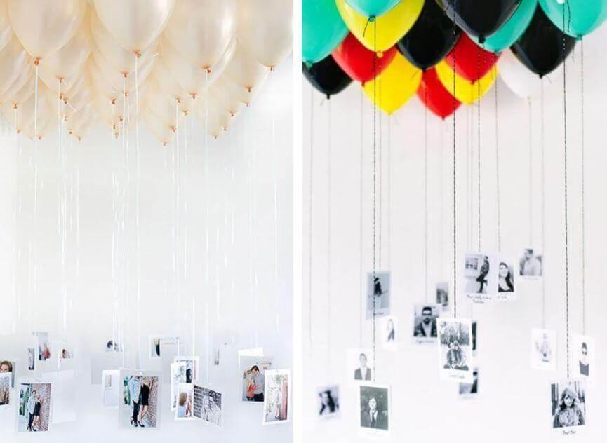 氣球與照片