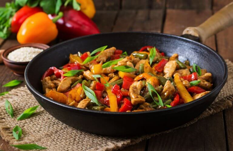 來作一道美味的青蔬雞肉吧!