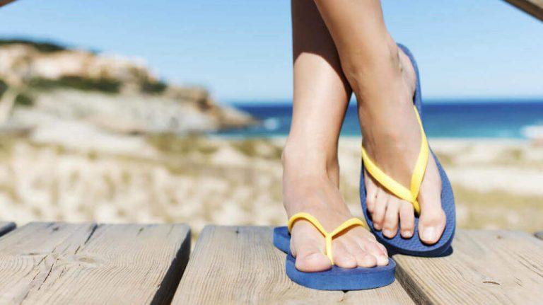 拖鞋可能造成的足部問題