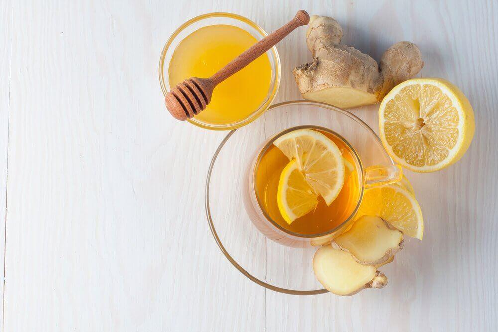 蜂蜜檸檬薑茶