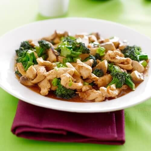 雞肉青花菜