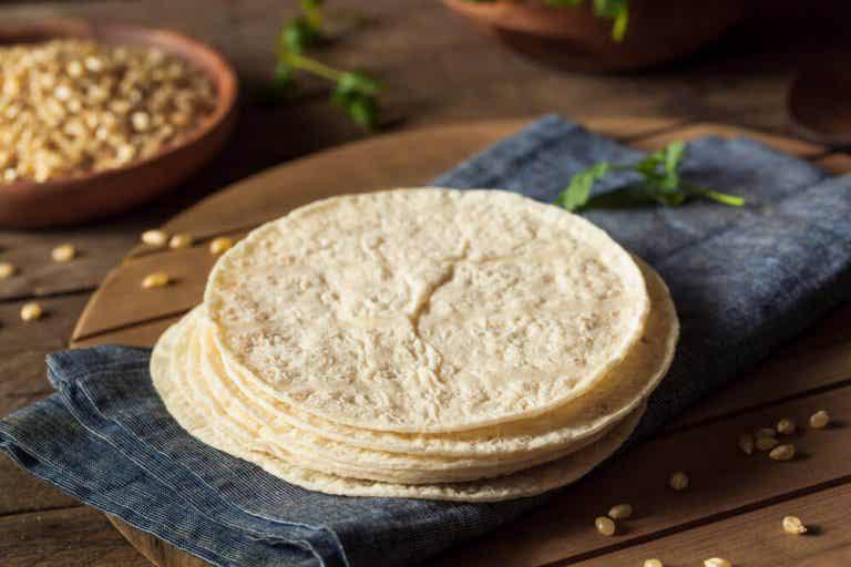 學習簡易的自製麵粉捲餅