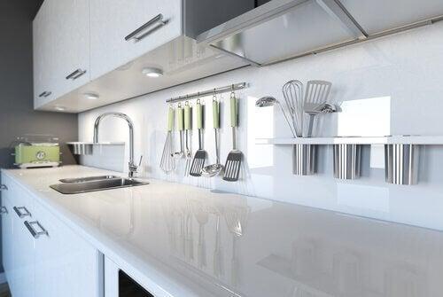 將廚房保持得完美無瑕的五種方法