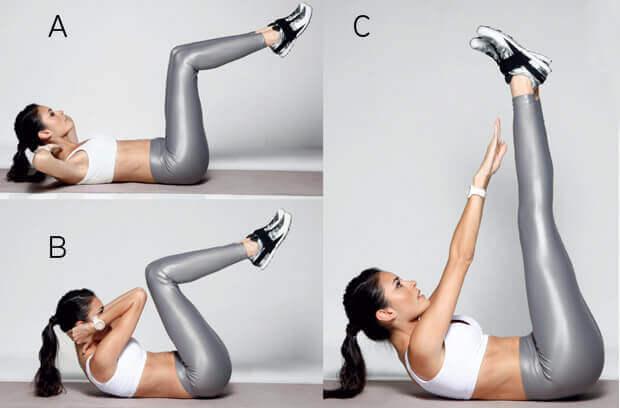 你會在家享受著進行的6種腹部運動