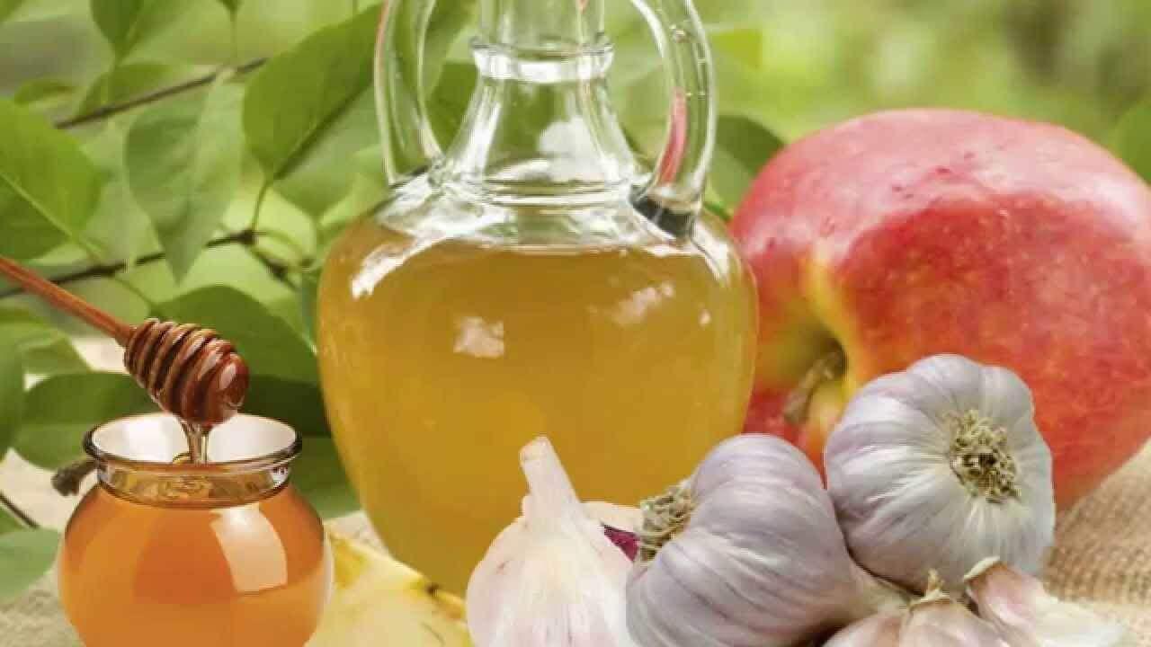 蜂蜜與蒜頭