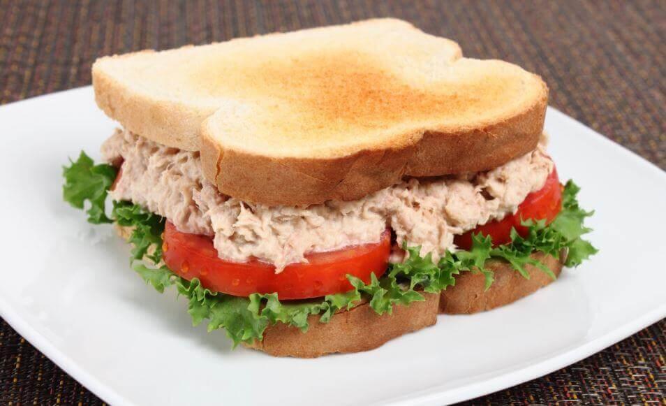 美味的鮪魚三明治食譜