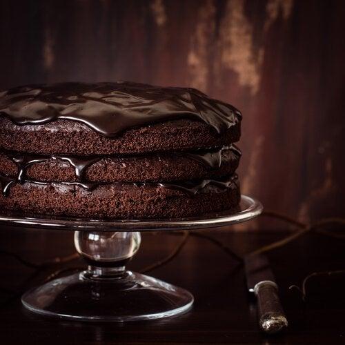 巧克力蛋糕1