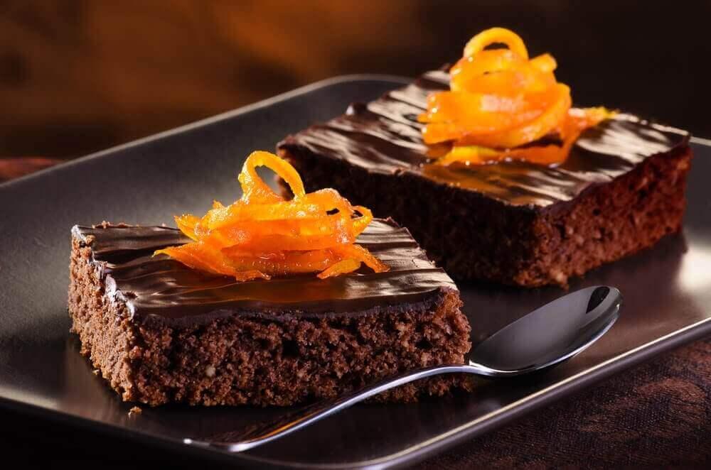 烤個美味的柳橙巧克力蛋糕