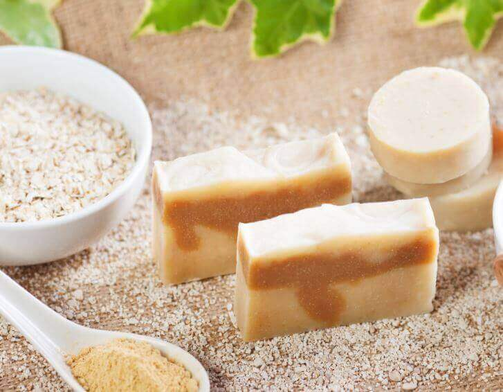 學會製作天然燕麥皂,為肌膚去角質