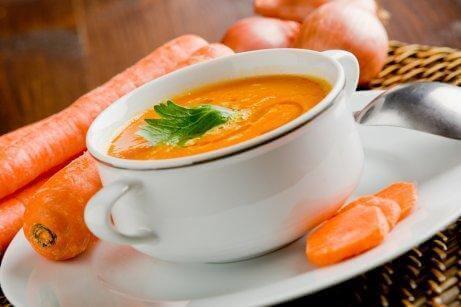 胡蘿蔔濃湯1