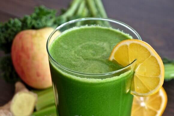 菠菜檸檬汁