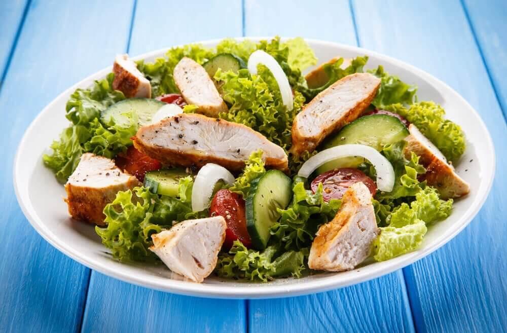 雞肉沙拉1