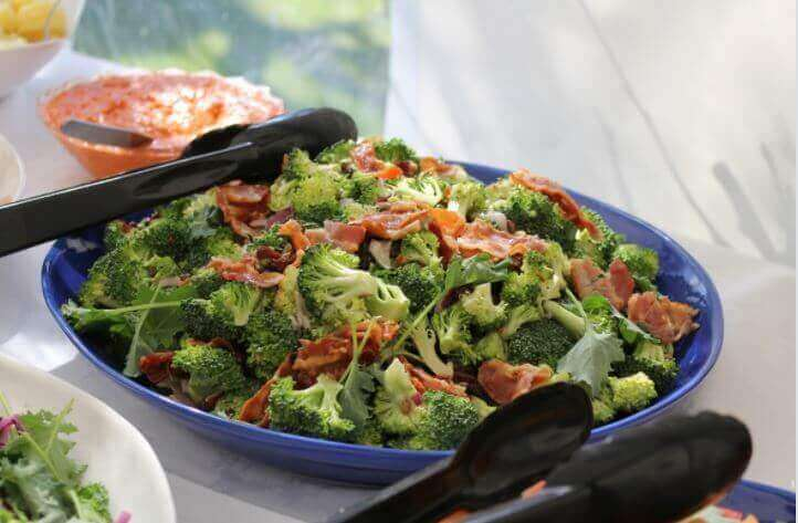 烤青花菜火腿鍋--簡易居家食譜