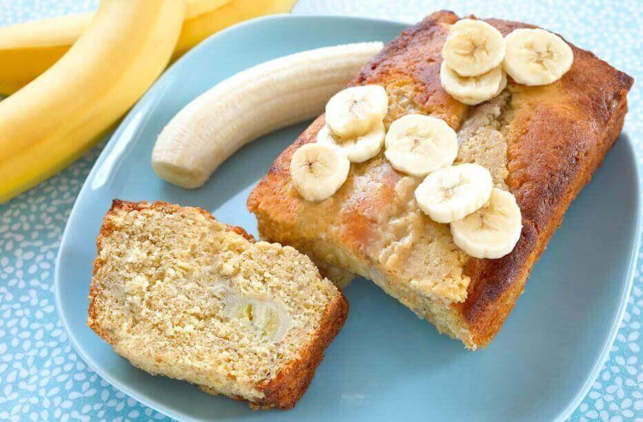 3種在家裡作香蕉蛋糕的方法