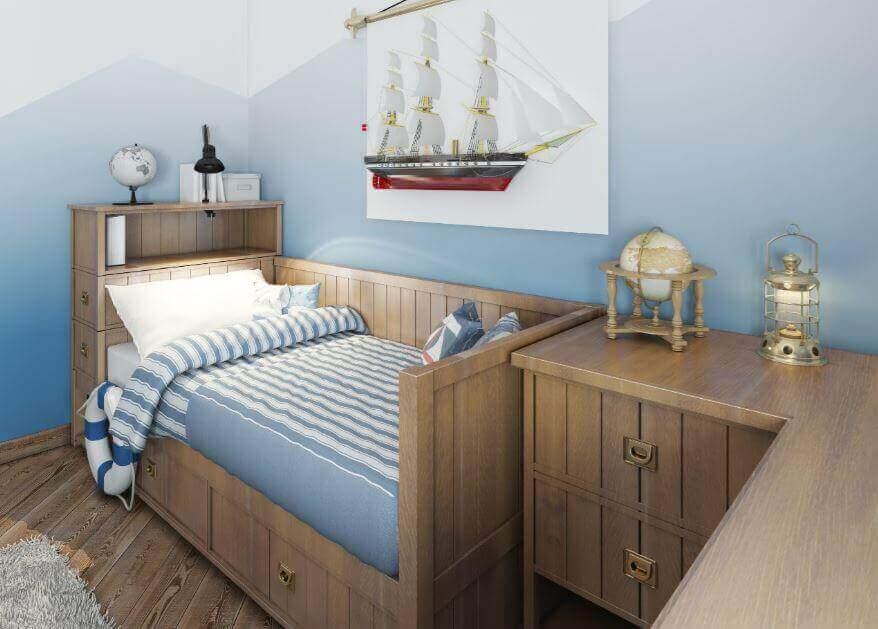 四種孩子會喜歡的儲物床