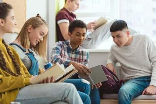 前青少年期孩子閱讀