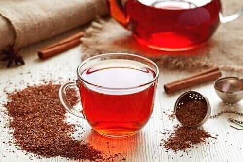 南非國寶茶治療缺鐵性貧血