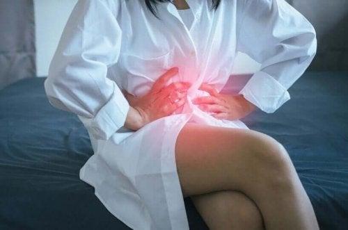 女人胃酸逆流