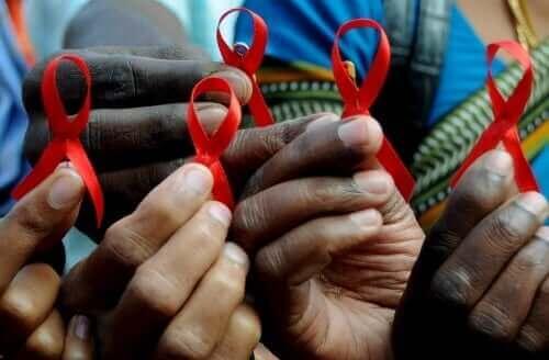 AIDS絲帶