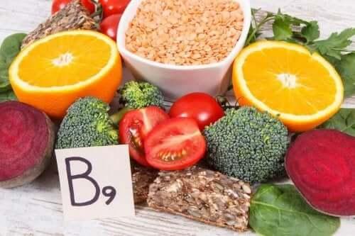維生素B9來源