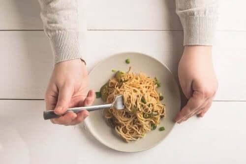 吃義大利麵