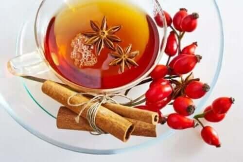 玫瑰果茶的好處及注意事項