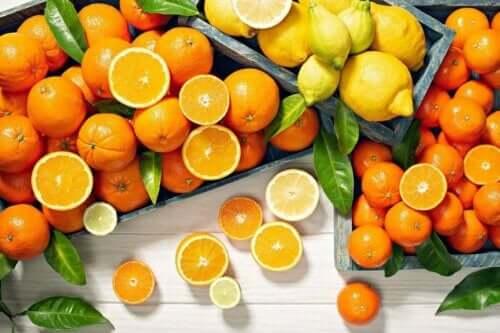 柑橘類水果