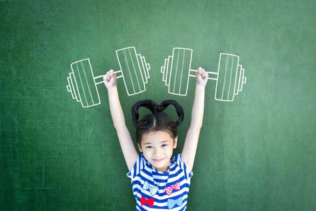 兒童肌肉強度觀念