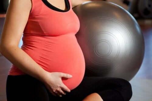 懷孕期間運動的四種方法